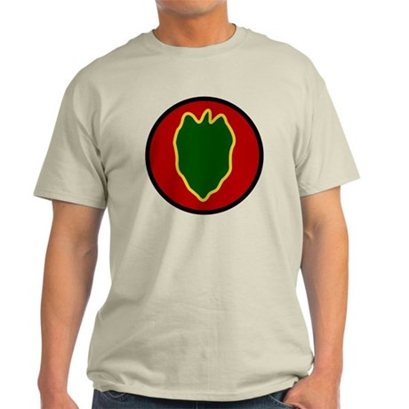 24th Infantry Division Light T-Shirt