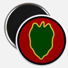 24th Infantry Division Magnet