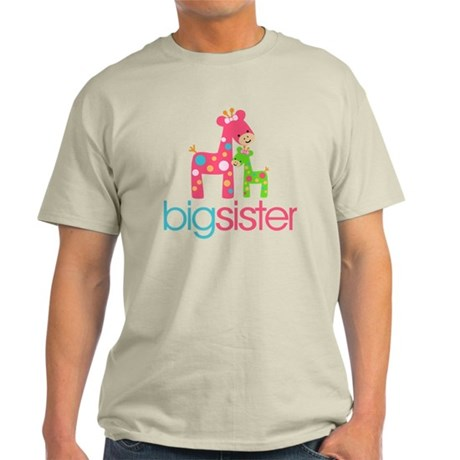 funky giraffe sister no name Light T-Shirt