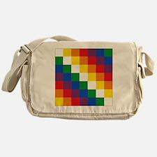 bolivia_(wiphala) Messenger Bag