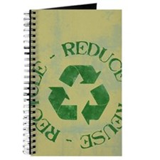 recycleGrungeOliveGreenPNPNT Journal