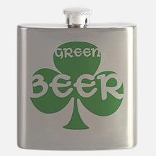greenbeerclover Flask
