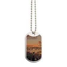 Rome - Colosseum Moon Dog Tags