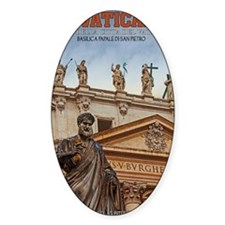 Vatican City Statues Decal