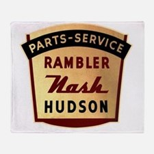 nash rambler hudson hornet Throw Blanket