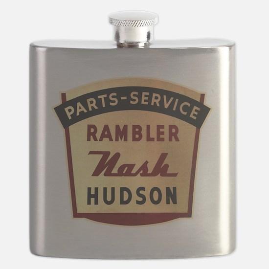 nash rambler hudson hornet Flask