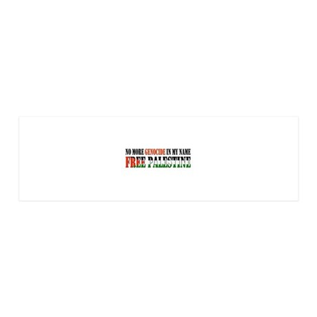 freepalestine 36x11 Wall Decal