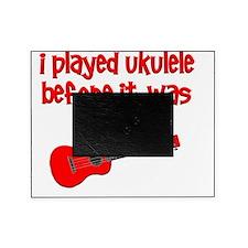 funny ukulele uke ukelele Picture Frame