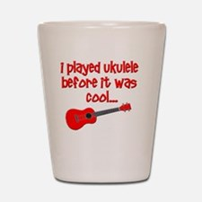 funny ukulele uke ukelele Shot Glass