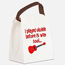funny ukulele uke ukelele Canvas Lunch Bag