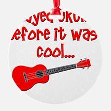 funny ukulele uke ukelele Ornament