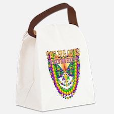 MGbeadsNboobsBgHapTr Canvas Lunch Bag