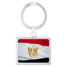 egyptflag Landscape Keychain