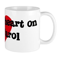 Heart on for Carol Mug
