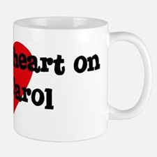 Heart on for Carol Mug