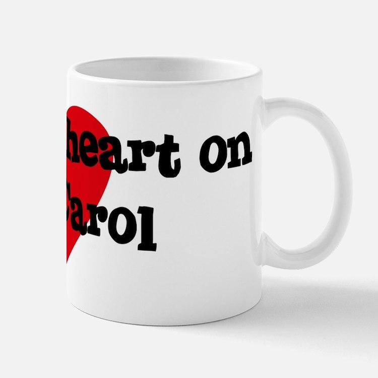 Heart on for Carol Small Small Mug