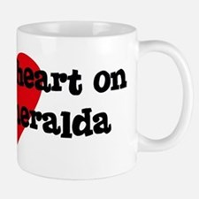 Heart on for Esmeralda Small Small Mug