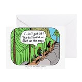 Hiking Greeting Cards