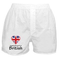 Happily Married British Boxer Shorts