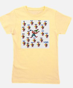 Count by 5 Wacky Girl's Tee