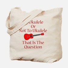 funny red ukulele musical instrument Tote Bag