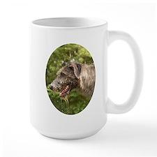 Wet Irish Wolfhound Mugs