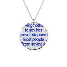 nothingtosay3 Necklace