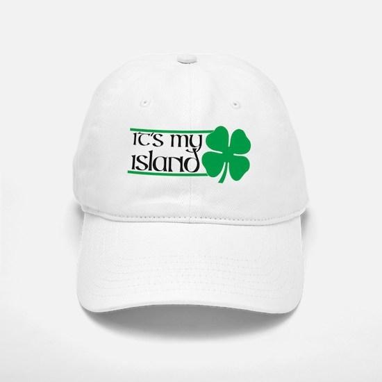 My ISland-wht Baseball Baseball Cap