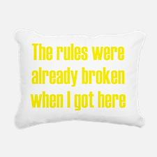 rules3 Rectangular Canvas Pillow