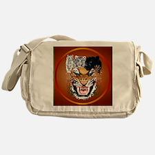 Big Cats-circle Messenger Bag