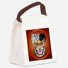 Big Cats-circle Canvas Lunch Bag