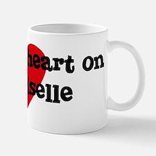 Heart on for Giselle Mug