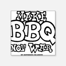 "MBBQNWbw Square Sticker 3"" x 3"""
