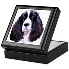 english springer spaniel Keepsake Box
