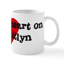 Heart on for Caitlyn Mug