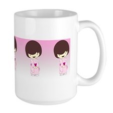 SakurasGirlsDayKimono_Stackable Mugs Mug