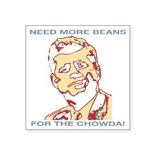 "CHOWDArev2 Square Sticker 3"" x 3"""