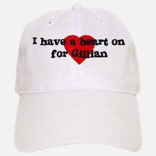 Heart on for Gillian Baseball Baseball Cap