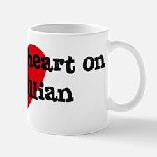 Heart on for Gillian Mug