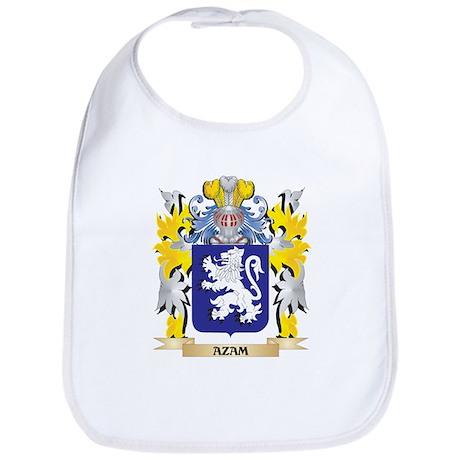 Azam Coat of Arms - Family Crest Baby Bib