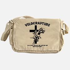 Velicirapture-tRex-LTT Messenger Bag