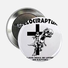 """Velicirapture-tRex-LTT 2.25"""" Button"""