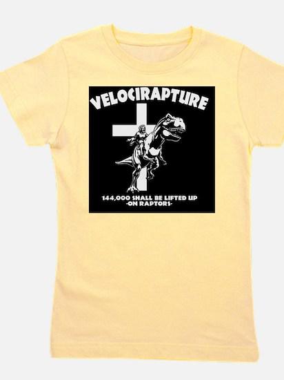 Velicirapture-tRex-TIL Girl's Tee