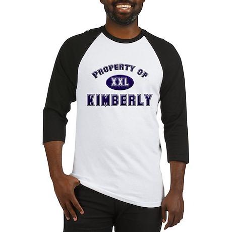 Property of kimberly Baseball Jersey