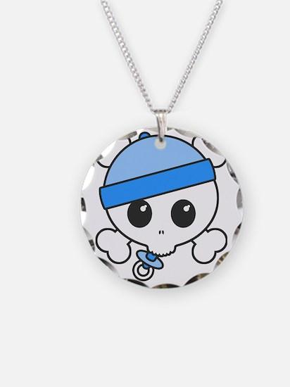 Baby Boy Skully Necklace