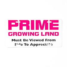 prime growing land_K Aluminum License Plate