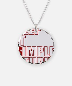 KISS: Keep It Simple, Stupid Necklace