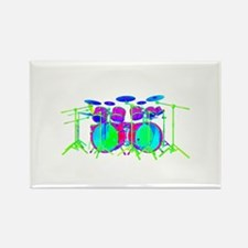 Colorful Drum Kit Magnets