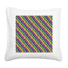 MGbeadsPatn460ipad Square Canvas Pillow