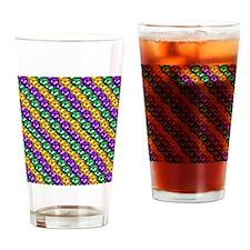 MGbeadsPatnMp Drinking Glass